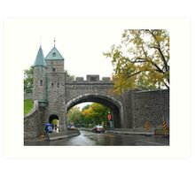 Looking through the underpass near the Citadelle Art Print