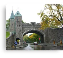 Looking through the underpass near the Citadelle Canvas Print