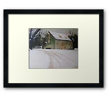 House in the Country from A Wyeth Framed Print