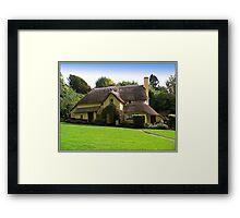Periwinkle Tea Rooms  Framed Print