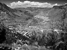 Beautiful Salt River Canyon ~ Black & White by Lucinda Walter