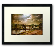 The Fish Farm . Framed Print