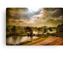 The Fish Farm . Canvas Print