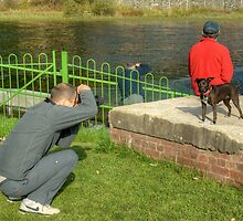 Gary Shoots A Terrier by Jamie  Green