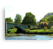 Y Bont Fawr  - Llanrwst Bridge Canvas Print