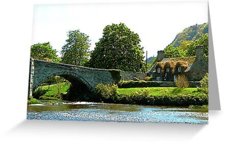 Y Bont Fawr  - Llanrwst Bridge by Trevor Kersley