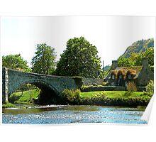 Y Bont Fawr  - Llanrwst Bridge Poster