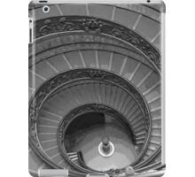 The Bramante Staircase In The Vatican Museum In Rome iPad Case/Skin