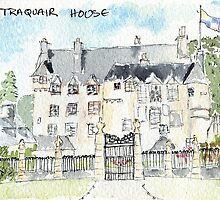 Traquair House, near Peebles by rosie320d