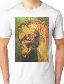 Ancient Persian Horse Head Unisex T-Shirt