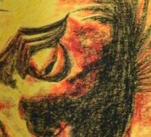 Ancient Persian Horse Head Sticker