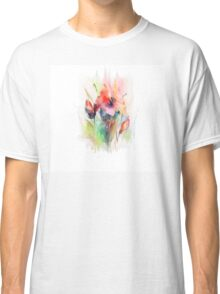 Floral watercolor illustration  Classic T-Shirt