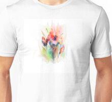 Floral watercolor illustration  Unisex T-Shirt