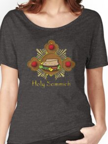 Holy Sammich - Heavenly Flavour Women's Relaxed Fit T-Shirt