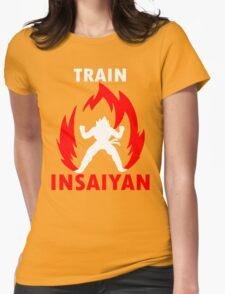 Train Insaiyan V Womens Fitted T-Shirt