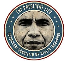 The President Lied Photographic Print