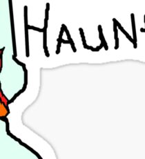 Happy Haunting Sticker