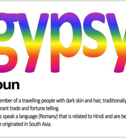 GYPSY  I  AM Sticker