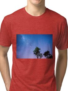Stars over Lake Moogerah Tri-blend T-Shirt