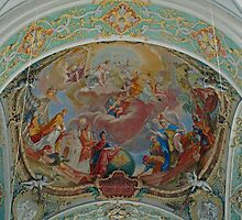 Celing of St. Peters Church by Lee d'Entremont