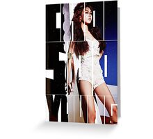Girls' Generation (SNSD) Choi Sooyoung 'Lion Heart' Greeting Card