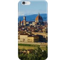 Impressions Of Florence - a View From the Top iPhone Case/Skin