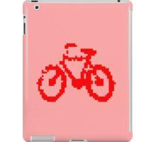 1 bit pixel bike (red) iPad Case/Skin