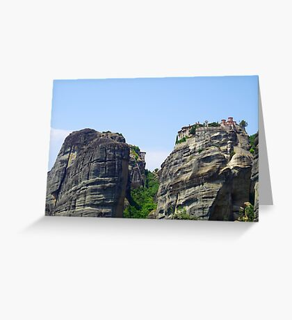 High Upon The Mountain Top Greeting Card