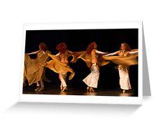 Arabian Dancer Greeting Card