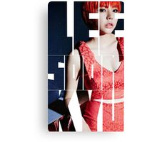 Girls' Generation (SNSD) Sunny 'Lion Heart' Canvas Print