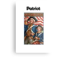 Patriot  Metal Print