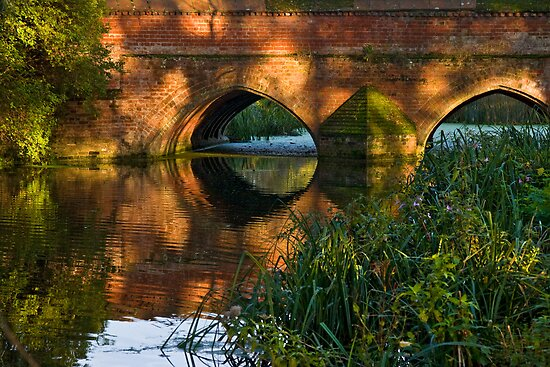 Toppesfield Bridge by Geoff Carpenter