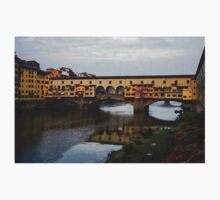Impressions Of Florence - Ponte Vecchio Autumn One Piece - Short Sleeve