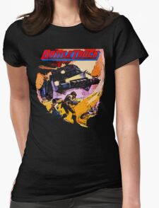 Battletruck Womens Fitted T-Shirt