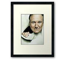 Robin Williams Framed Print