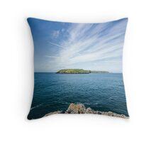 Skomer Island Throw Pillow