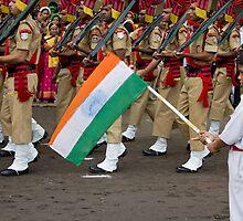 The Little Flag Hoster by Ashvary Jain