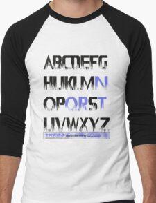 tron alphabet tshirt by roger bros T-Shirt