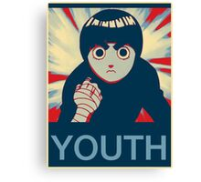 Rock Lee Youth Canvas Print