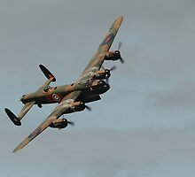 The Lancaster at Dunsfold Aerodrome by Shane Ransom