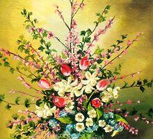 Flower Basket by Sorin Apostolescu