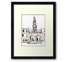 Shepton Mallet Market Cross Somerset Framed Print
