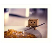 Cereal for Danbo?? Art Print