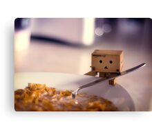 Cereal for Danbo?? Canvas Print