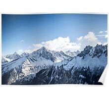 Les Alpes Poster