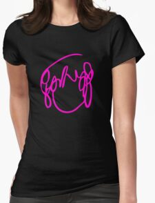 Ramona Flowers Pink  - Scott Pilgrim vs The World Womens Fitted T-Shirt
