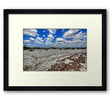 Cozumel, Mexico - Lonely Beach Framed Print