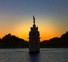 Diana Fountain Bushy Park by DExPIX