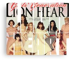 Girls' Generation (SNSD) 'Lion Heart' Canvas Print