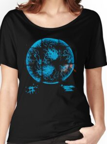 Glowing Bacterial Art - Salmonella  Women's Relaxed Fit T-Shirt